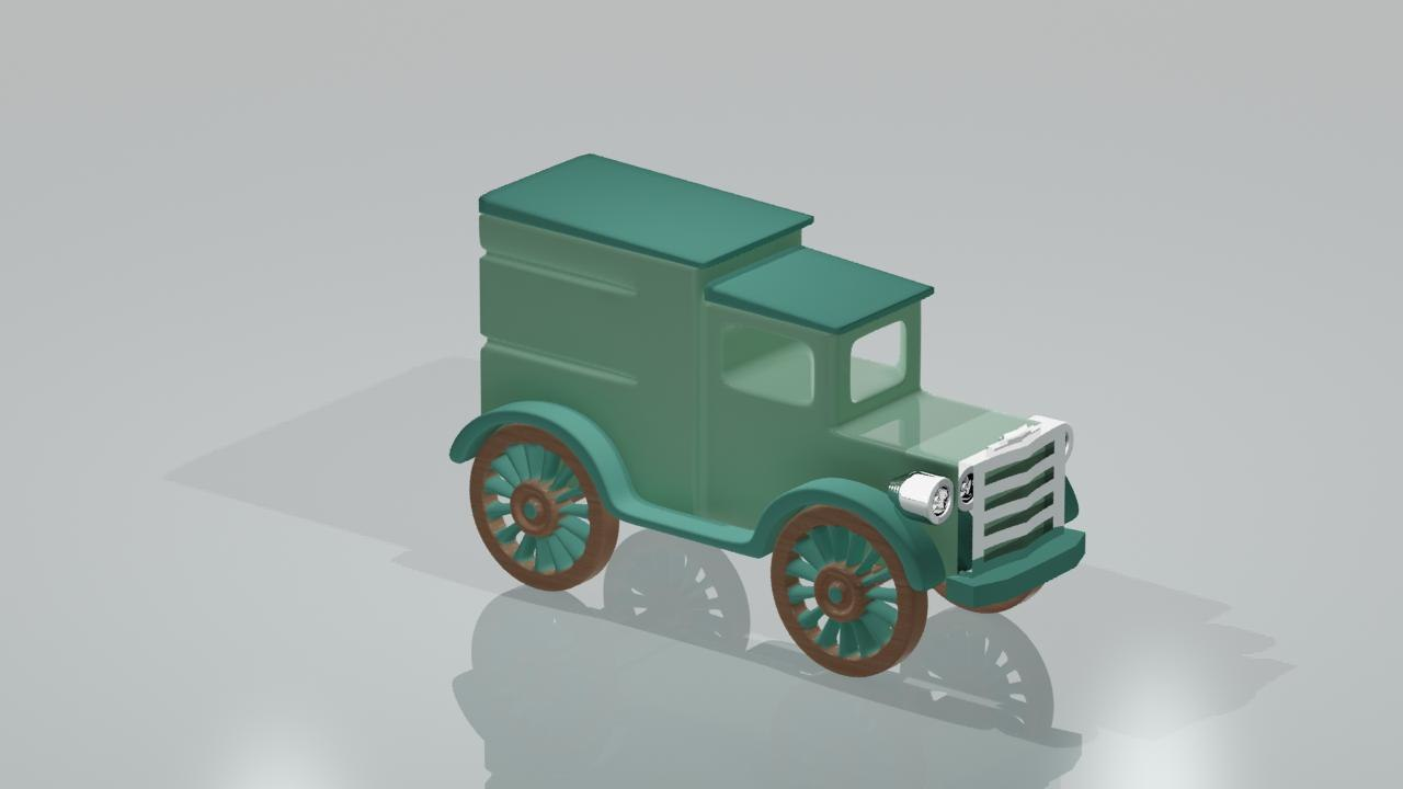3ds max toy truck