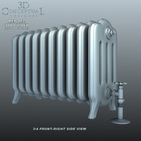 Vintage_Cast-Iron Radiator1
