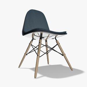 3d c4d eiffel chair seat