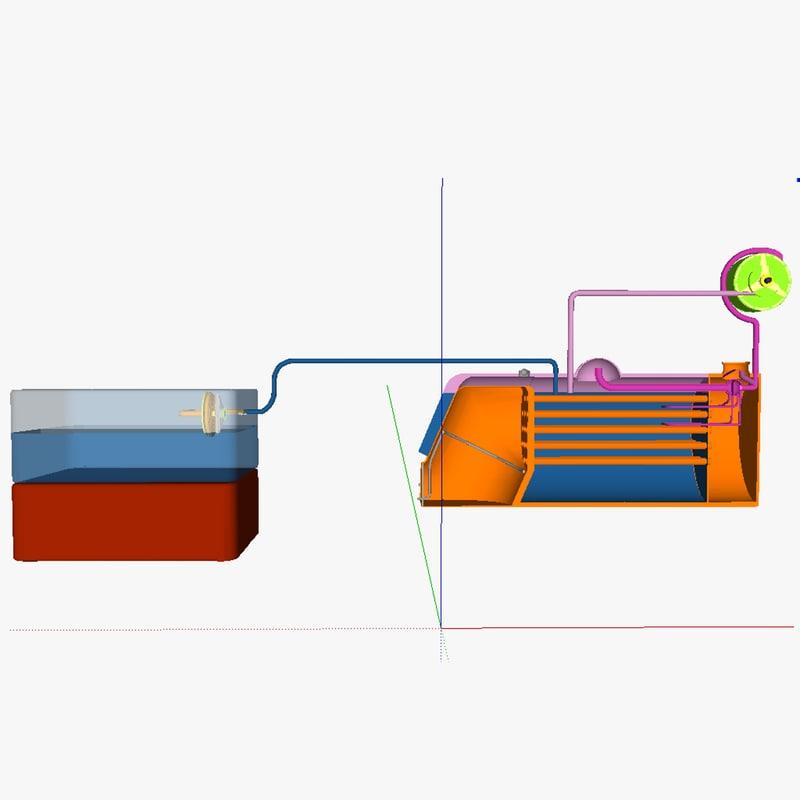 3d tecs thermal energy