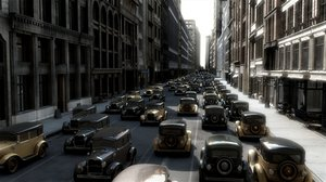 3d model street old new york
