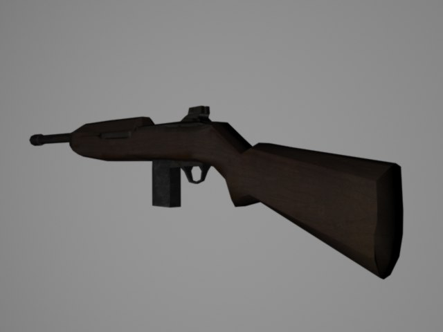 fbx m1 carbine rifle