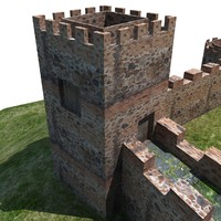 3d castle 3 model