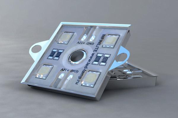 3d max led module