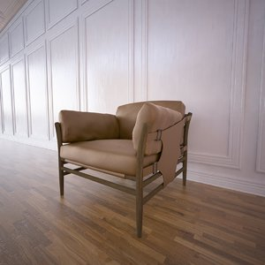 3d armchair anthropologie