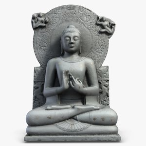 seated buddha statuette s