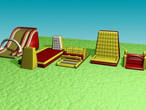 3ds max inflatable games