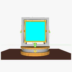 heliostat 3d 3ds