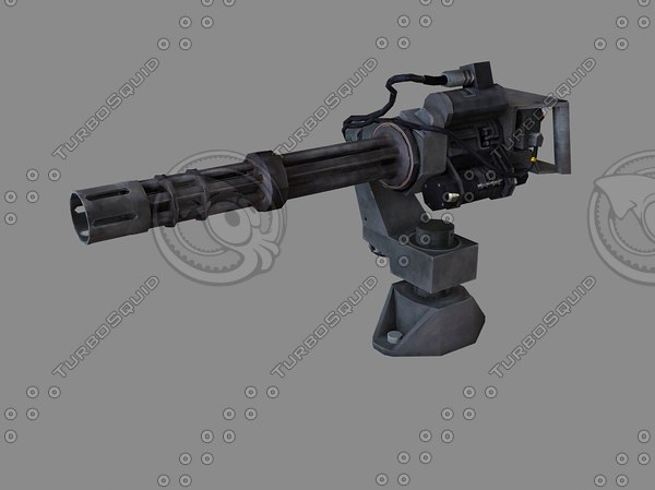 3ds max gun gun