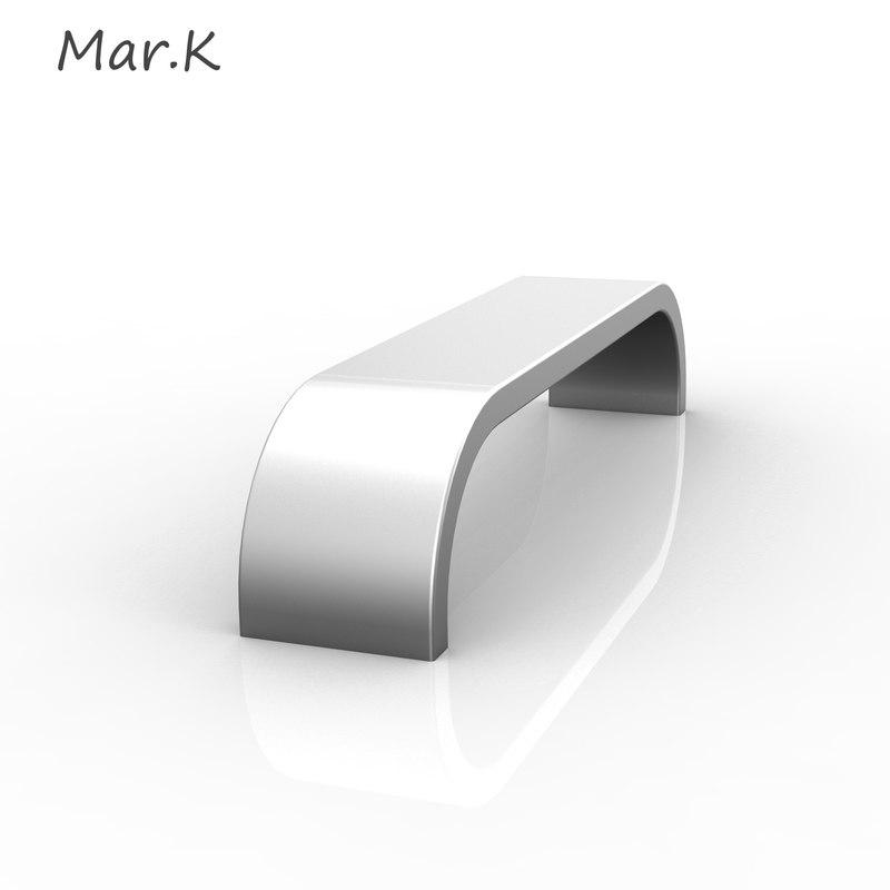 handle catana 3d model