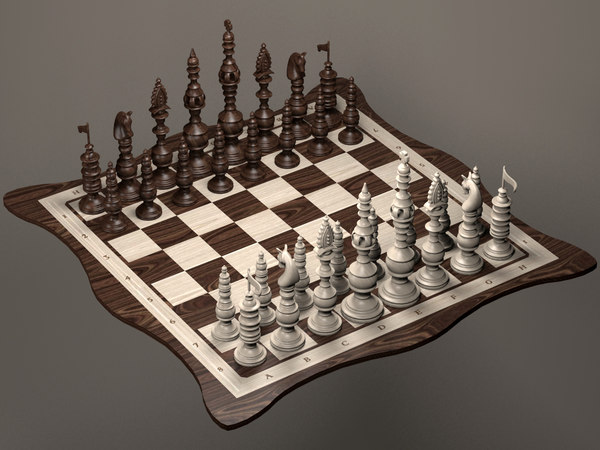 3d chessboard numbers letters