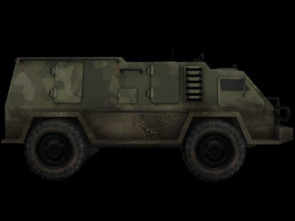 military 3d max