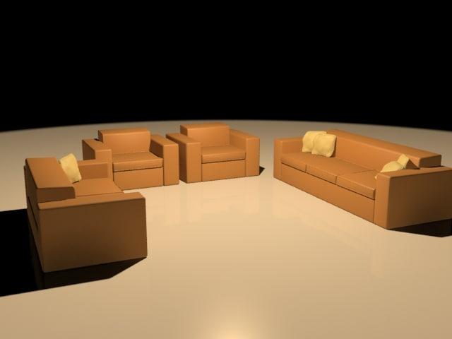 free max mode sofa set
