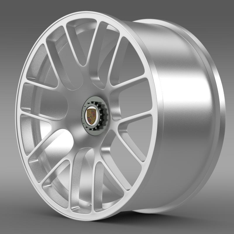 porsche 911 turbo rim 3ds
