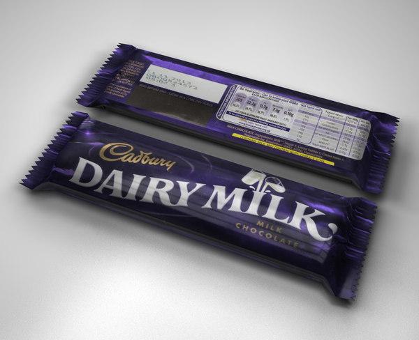 dairy milk chocolate bar