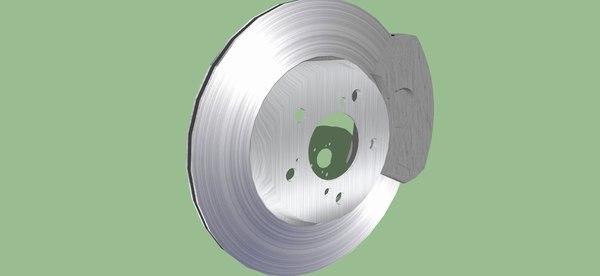 standard disc brake obj