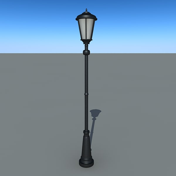 park light 3d max