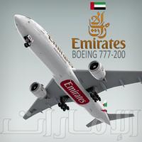 Boeing 777-200 Emirates
