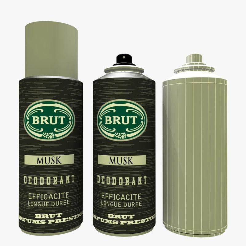 Bottle Perfume Brut Max