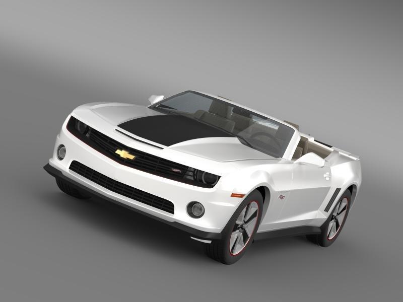 chevrolet camaro 2013 hotwheels 3d 3ds