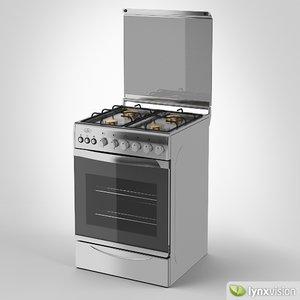 universal freestanding gas cooker max