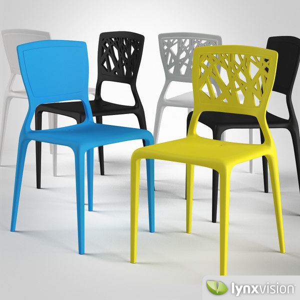 viento chair bonaldo 3d model