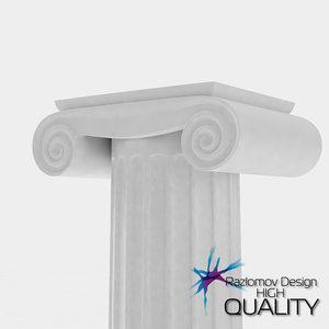 max greek ancient column