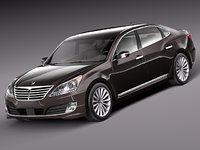 2013 2014 sedan luxury 3ds