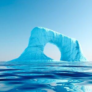 3d model iceberg gate