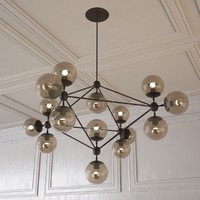 3d model of modo chandelier
