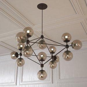3d model of modo chandelier
