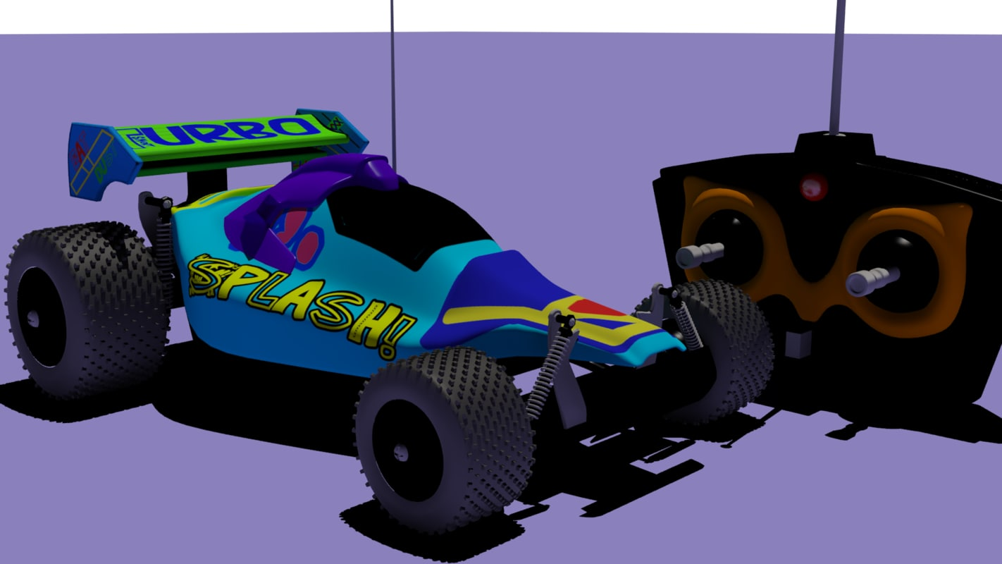 3dsmax rc car