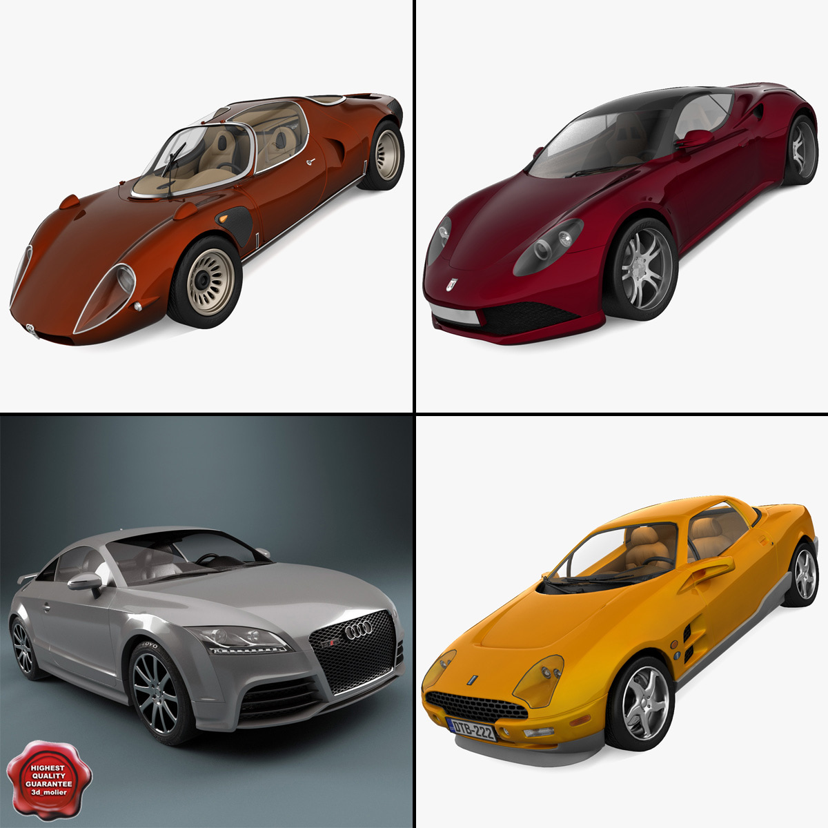 3ds sport cars 7 rs