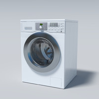 washingmachine washing machine 3d obj