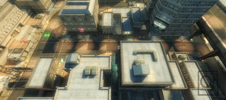 3d urban construction