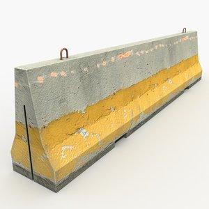 max barrier modeled