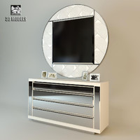 chest drawers visionnaire 3d model