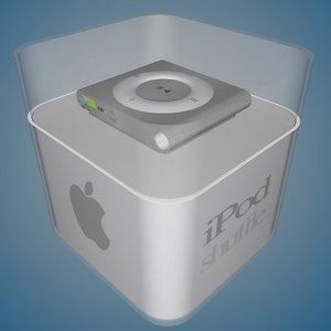 ipod shuffle box 3ds
