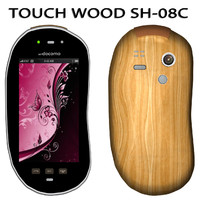 3d mobile touchwood sh-08c