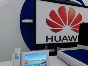 3dsmax huawei 850 video phone