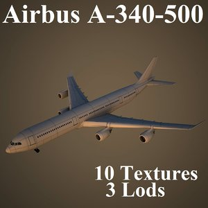 airbus a-340-500 air max