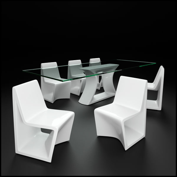 vondom rest dining table obj