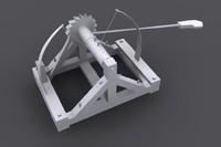 Leonardo Da Vinci - catapult