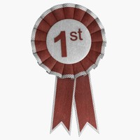 award ribbon 3d model