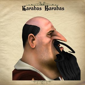 3d model poser character karabas