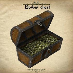 pz3 figure dower chest