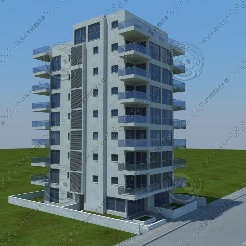 3d buildings 1 3 model