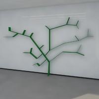 13 bookshelf 2011 3d model