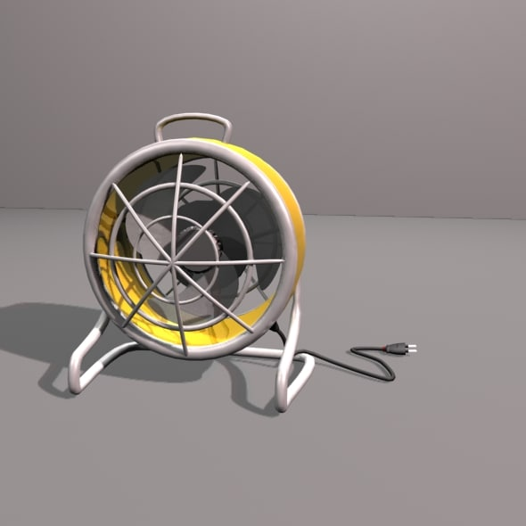 3ds max antique table fan