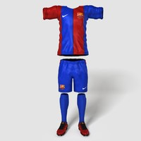 3d football outfit ball